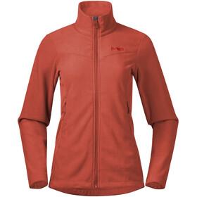 Bergans Finnsnes Fleece Jacket Women brick